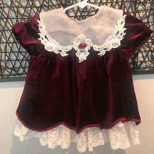 Vintage Baby Holiday Dress 18mon